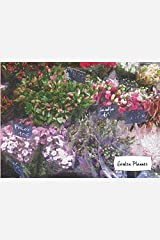 Garden planner: Paris Flowers: Watercolor Painting Garden Journal: Gardening Planner and Log Book, Garden Record Diary, Monthly Planning Checklist, Paperback, matte cover finish. Paperback