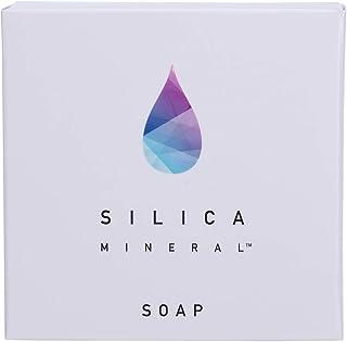 シリカミネラル石鹸 高純度シリカ濃縮溶液配合 80g