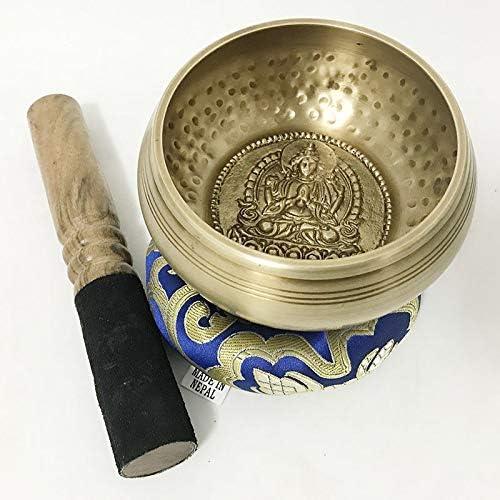 ZLDGYG lowest price ZMSGZ Max 79% OFF Meditation Singing Bowl Style Hand Hammered Buddha