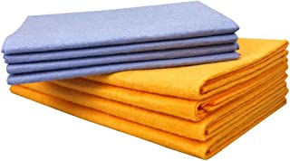 Apostasi 8Pcs/Set Super Absorbent Towels, Microfiber Soft Anti-Grease Bamboo Fiber Dish Washing Wiping Rags for Household ...