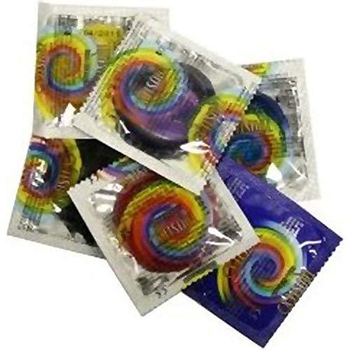 Trustex Extra Strength Assorted Colors Latex Condoms 12 Pack