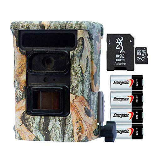 Browning Defender 940 20MP Trail Camera with Memory Card and Batteries, Connects to Phone with WiFi or Bluetooth, Camo