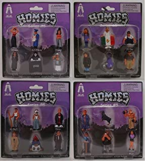 Homies Series 5 carded complete set of 24 figures great for 1:32 scale