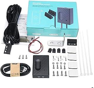 TOOGOO WiFi Switch Garage Door Controller for Car Garage Door Opener APP Remote Control Timing Voice Control