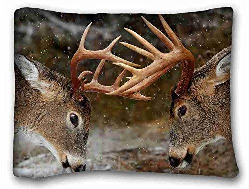 Custom (Tiere Bär Bäume liegend Lazy) Custom Reißverschluss Kissen Fall 50,8x 66cm (One Seiten) von überraschen Sie passend für queen-bed, Polyester-Mischgewebe, Muster 10, European