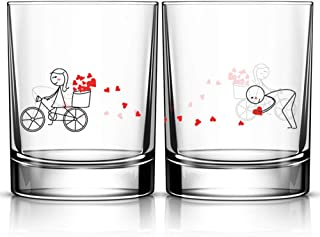 Best valentines day glass Reviews