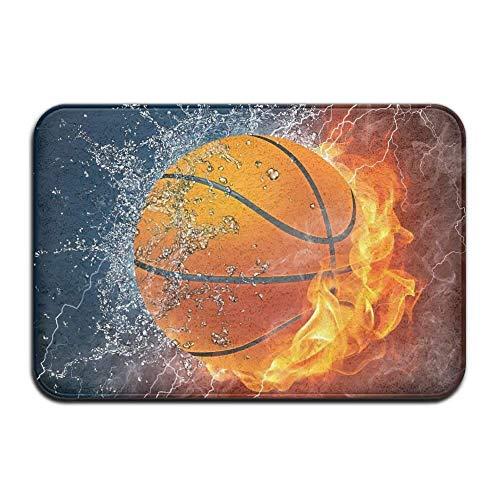 GWrix Basketball Comfort Mats, meerzijdig inzetbaar, super washroom, mat, wisbloem, mat, carpets, flanel, microvezel, zacht, absorberend