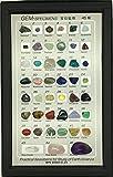 ジェムストーン 宝石鉱物標本45種 (解説・水晶付き)