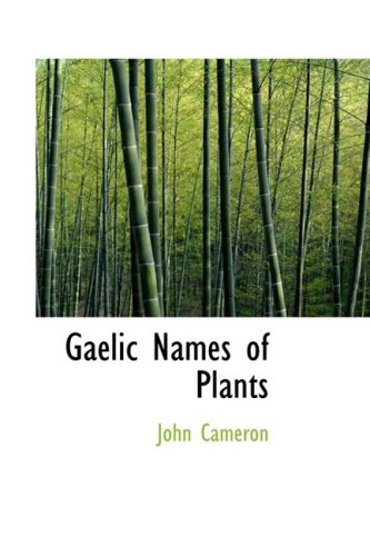 Gaelic Names of Plants