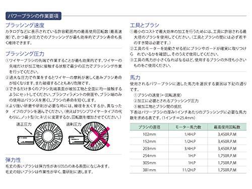 バーテック 電動ノットカップブラシSUS0.35 13017