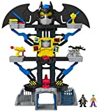 Imaginext- Batman Súper Friends Transforming Batcave, Multicolor (Fisher Price CHH91)