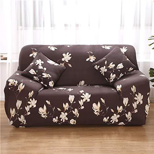 ASCV Housse élastique canapé Extensible en Forme de L Housse de canapé sectionnelle Housse de canapé pour Meubles de Salon fauteuils A9 1 Place
