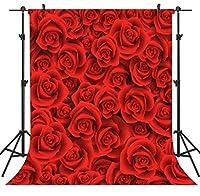 GooEoo 5×7FTバレンタインデーのテーマ絵布カスタマイズされた写真の背景の背景スタジオプロップVDD021