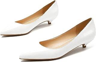 Surprise S Ladies Shoes Black Pumps Patent Leather 3Cm Low Heel Shoe Nude Office Shoes Elegant Women Party Shoes