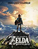 The Legend of Zelda: 2021 – 2022 Games Calendar – 18 months – 8.5 x 11 Inch High Quality Images