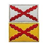 Emblema de la bandera de España Tercio Morados Viejos Español SWAT...