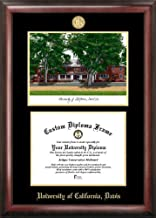 Campus Images NCAA Gold Embossed Diploma Frame with Lithograph