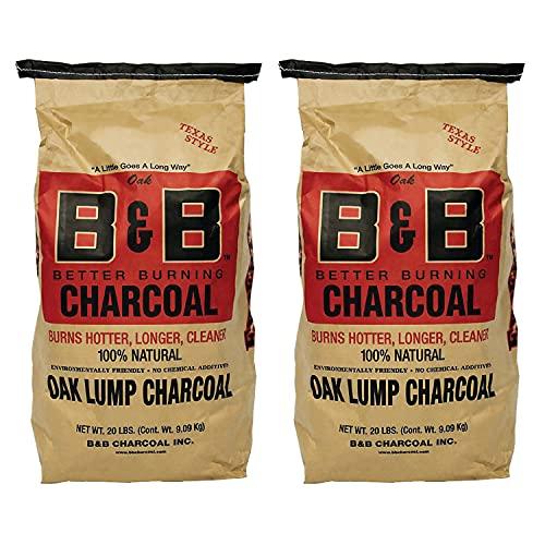 B&B Charcoal Signature Low Smoke Long Burning Oak...