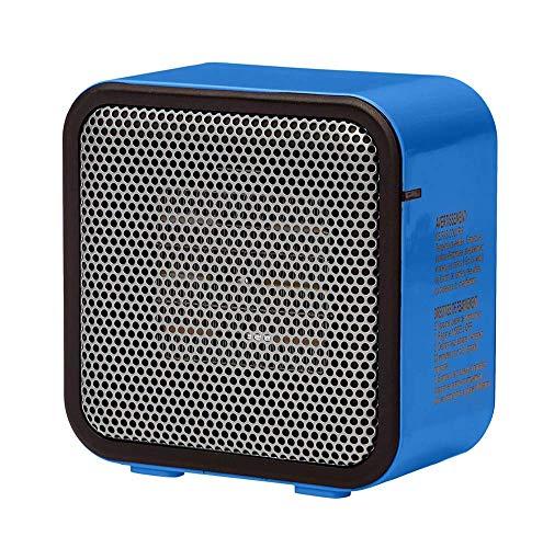 Chauffage, Portable 500 Watts en céramique Petit Espace Personnel Mini Chauffe, Bleu