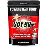SOY 90+ | Soja Protein Isolat | 93% Protein i.Tr. | Vegan | Laktosefrei | Köstlicher Geschmack | Gentechnisch...