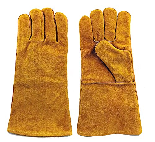"""Instapark Welding Gloves Medium Large MIG/STICK TIG Compatible 