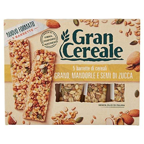 Gran Cereale Barrette di Cereali Ricchi di Fibra, 5 Barrette, 135g