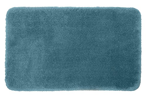 STAINMASTER TruSoft Luxurious Bath Rug, 21-By-36 Inch Bali Blue