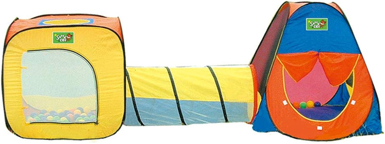 Bloomy home Kinder Zelt Kindergarten Spielzeug DREIinone Haus Baby Spielzeug Haus Tunnel Zelt Mit Crawlen Rohr Tunnel