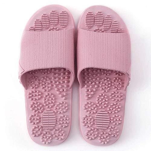 Zapatillas De Masaje De Acupresión Diapositivas De Mujer Sandalias De Reflexología Terapéutica Para Masaje De Punto De Acupuntura De Pie Shiatsu Arco Alivio Del Dolor Zapatos Antideslizantes Para Baño
