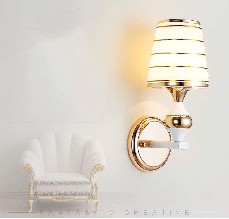 GZ Wandlampe Semplice E Moderno Lampada Da Parete LED Lampe Da Comodino Soggiorno Kamera Da Letto Tv Applique Creativi Lampade Personalit Agrave; Vetro Dekorativo