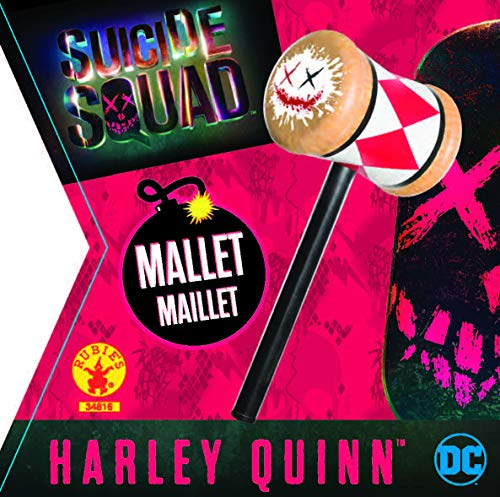 Rubie's 34816NS Official DC Suicide Squad Harley Quinn Mallet Costume Accessory, Girls'