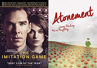 Critically Acclaimed War-Time Dramas: The Imitation Game & Atonement (alternate cover) DVD Bundle/ 2 Feature Films