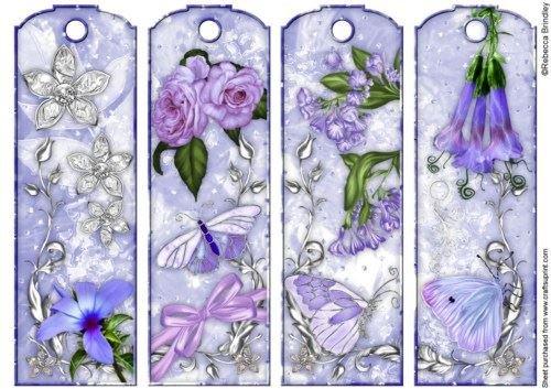 Heaven Scent Twilight di segnalibri in Rebecca Brindley, colore: mirtillo