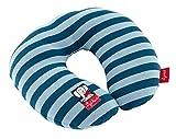 SIGIKID Mädchen und Jungen, Nackenkissen Lolo mit Stützfunktion, Reisekissen, empfohlen ab 12 Monaten, blau, 40836