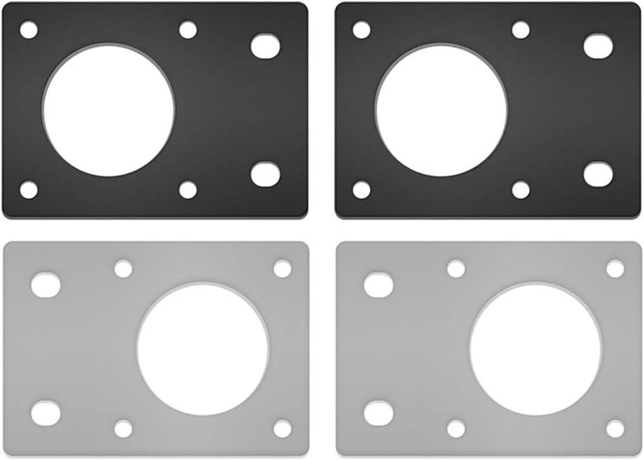 2ST alluminio NEMA 17 42 piastra di montaggio per motore passo-passo per stampante 3D 2020 Profile