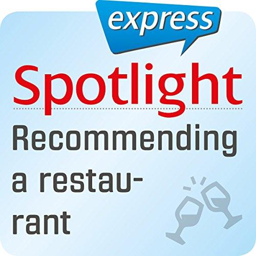 Spotlight express - Ausgehen: Wortschatz-Training Englisch - Ein Restaurant empfehlen Titelbild