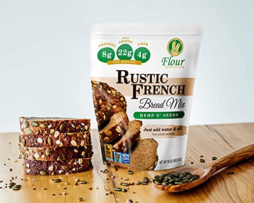 Hemp N' Seeds Rustic French Bread Mix