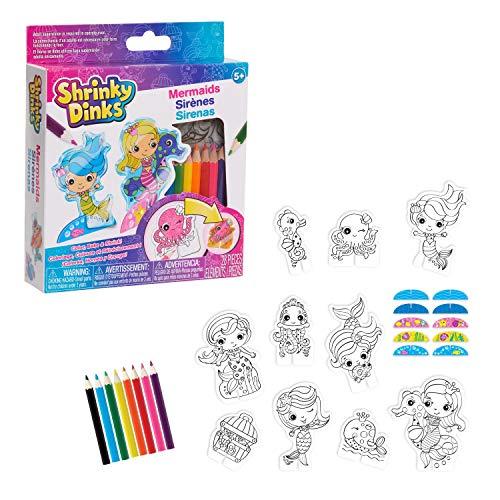 Just Play Shrinky Dinks Minis Mermaids, Kids Art...