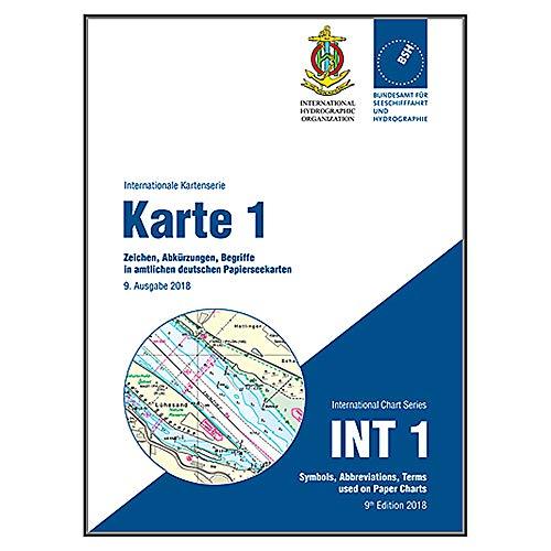 Karte 1 - Zeichen, Abkürzungen, Begriffe in amtlichen deutschen Seekarten (Internationale Kartenserie): INT 1 - Symbols, abbrevations, terms used on ... chart series) (Deutsche Seekarte)