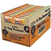 Nissin Top Ramen, Chicken Flavor 3 oz. ea, 48 ct. A1