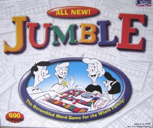 All New Jumble the Scrambled Word Board Game By Cadaco by Cadaco
