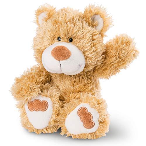 NICI 46505 Kuscheltier Bär 20 cm – Plüschtier für Mädchen, Jungen & Babys – Flauschiges Stofftier zum Spielen, Sammeln & Kuscheln – Gemütliches Schmusetier, Goldbraun