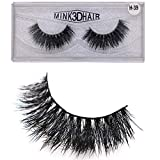 Jytrading False Eyelashes, Reusable 3D Faux Mink Curly Thick Self-Adhesive Fake Lashes Extension for Women Make Up 12#