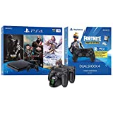 2019 Newest Playstation 4 Holiday Bundle- Only on Playstation PS4 Console Slim Bundle - Included 3X Games, Playstation 4 Fortnite...