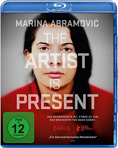 Marina Abramovic - The Artist is present (OmU) [Blu-ray]