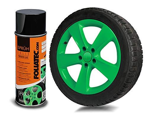 Foliatec 2073 Pellicola Spray, Power-Verde lucido1 x 400 ml, Powergreen Shiny