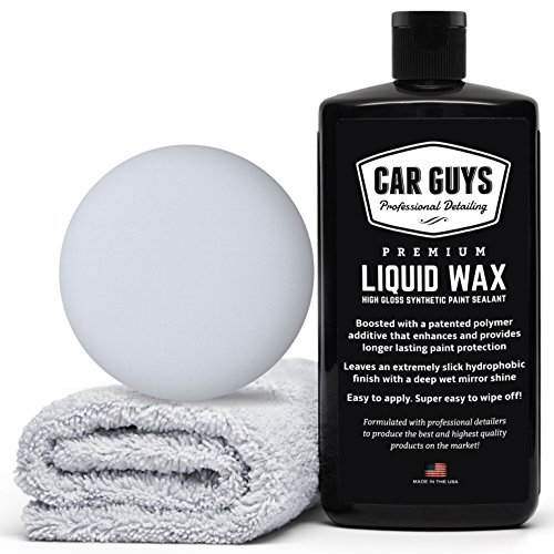 CarGuys Liquid Wax - The Ultimate Car Wax Shine with Polymer Paint Sealant...