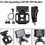 ALIKEEY Kamera Zubehör 5.5/7.85in CrystalSky Monitorhalterungshalterung für DJI Mavic 2 / Pro/AIR