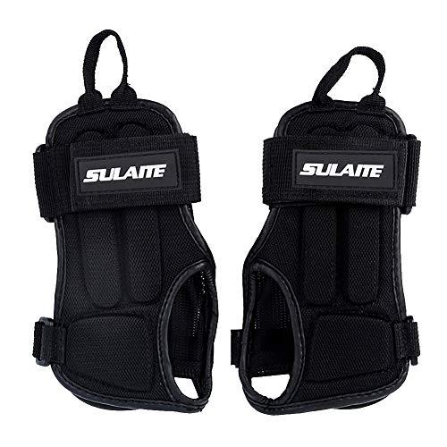 GES Almohadillas para la muñeca Guardia Protector deportivo Bracers Patinaje sobre ruedas...