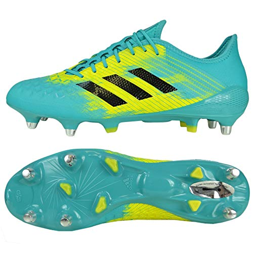 adidas Predator Malice Control (SG), Chaussures de Rugby Homme, Multicolore (Agalre/Negbás/Amasho...